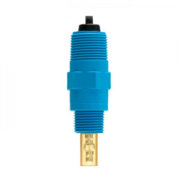Sonda de Conductividad Flow-thru-Sensor NTC, conector DIN, cable de 3 m HI3003 / D Hanna