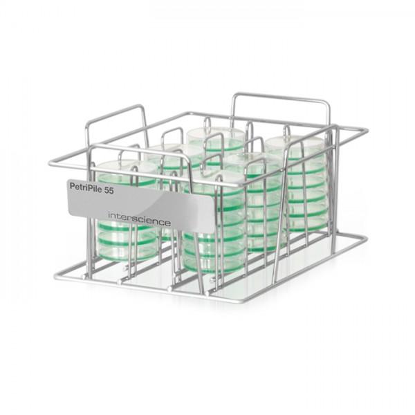 Soporte para Placas de Petri Gama PetriPile® Interscience