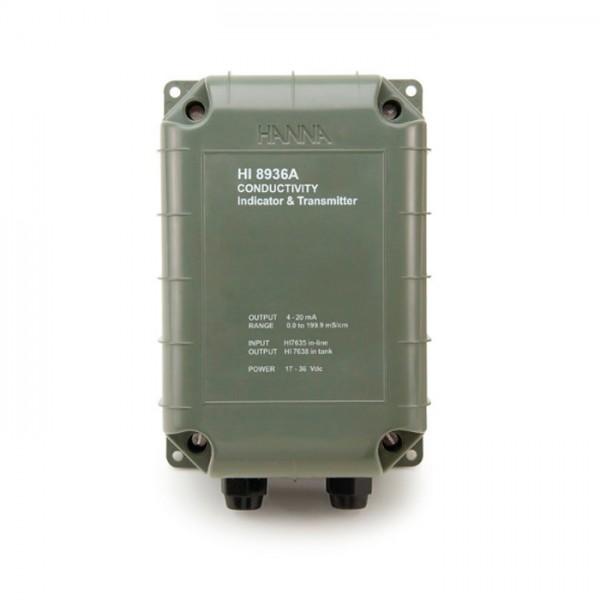 Transmisores de Conductividad para usar con sonda de cuatro anillos HI8936 Hanna