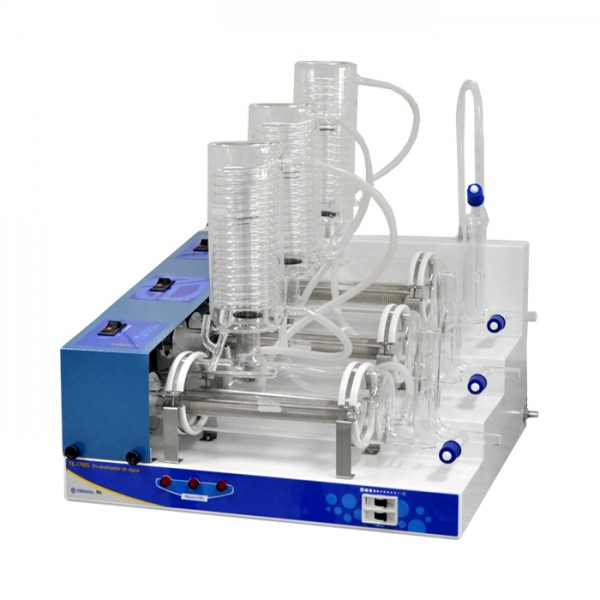 Tri-Destilador de agua TE-1785 Tecnal
