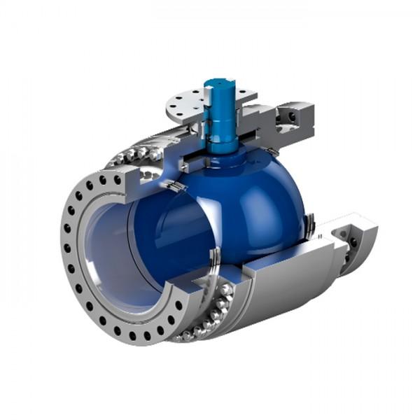 Válvula de Bola de Muñón Montadas en Metal Trunnion TrunTech ValvTechnologies