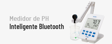 Medidor de pH inteligente Bluetooth Edge® blu Bluetooth®HI2202-01 Hanna